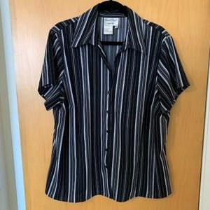 Fred David Woman Button up Blouse 1X